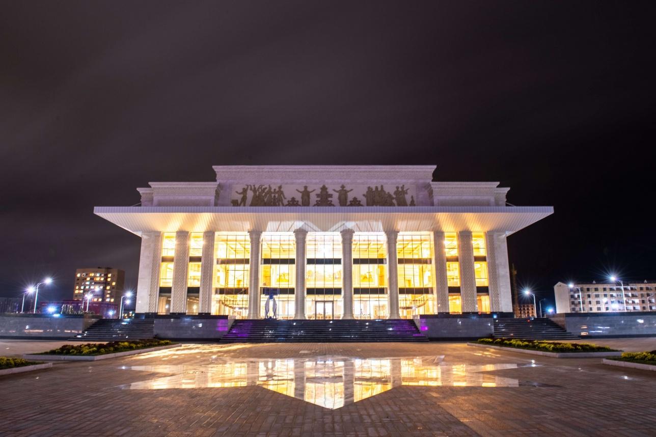Открытие драматического театра в Талдыкоргане