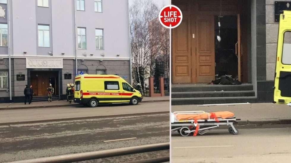 В результате взрыва погиб один человек, трое пострадали