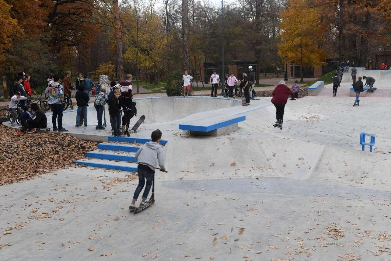 Центральный парк может порадовать горожан велотреком и скейтодромом