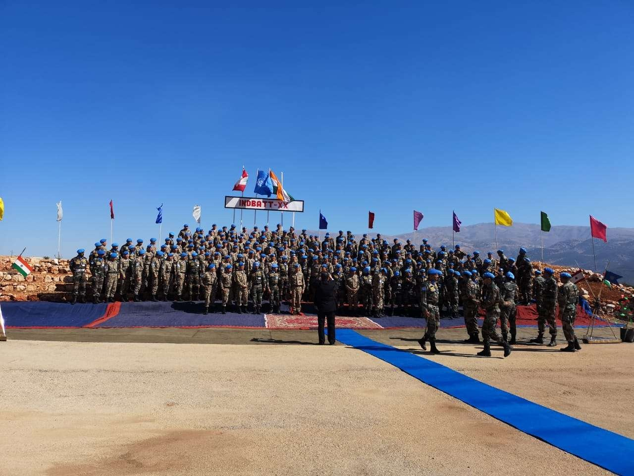 Казахстанские миротворцы прибыли в Ливан