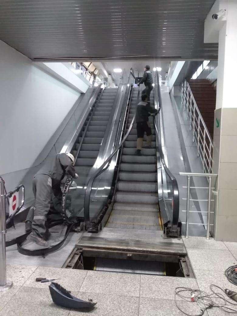 Замена эскалаторов