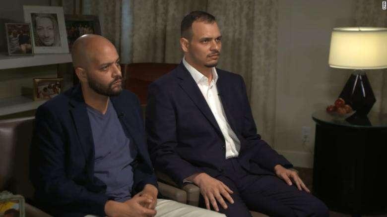 Сыновья Хашогги во время интервью на CNN