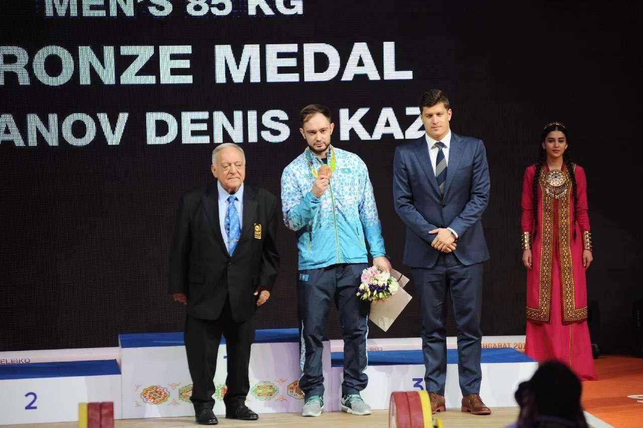 Награждение Дениса Уланова