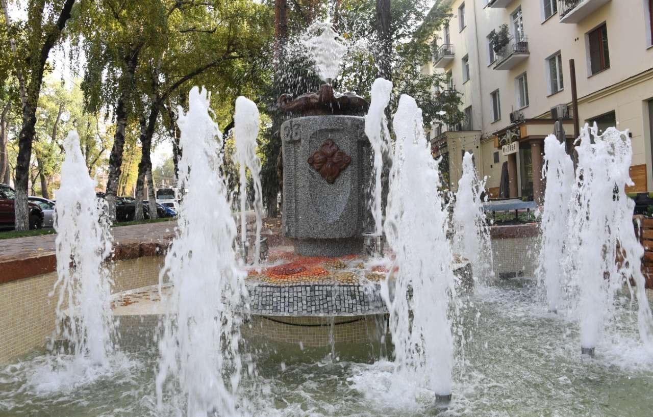 Работа по реконструкции и строительству фонтанов продолжится и в 2019 году