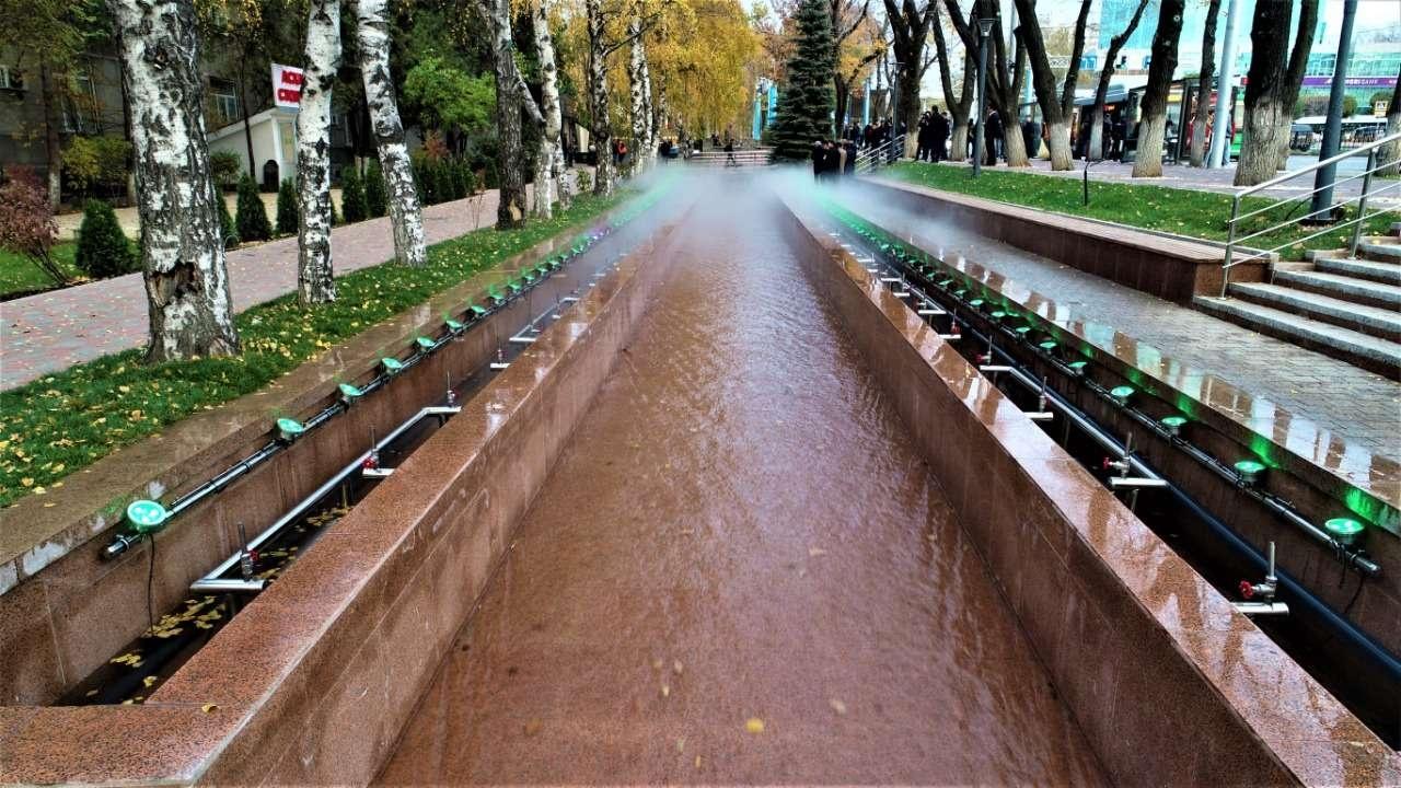 При строительстве фонтанов используются передовые технологии