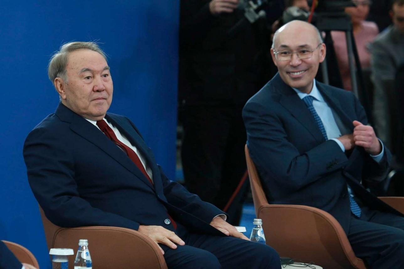 Назарбаев и Келимбетов