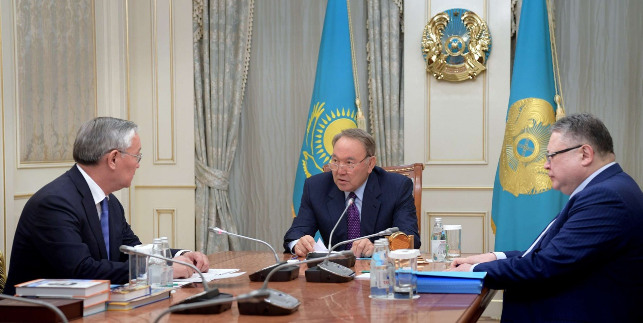 Встреча с ректором Казахского национального педагогического университета имени Абая
