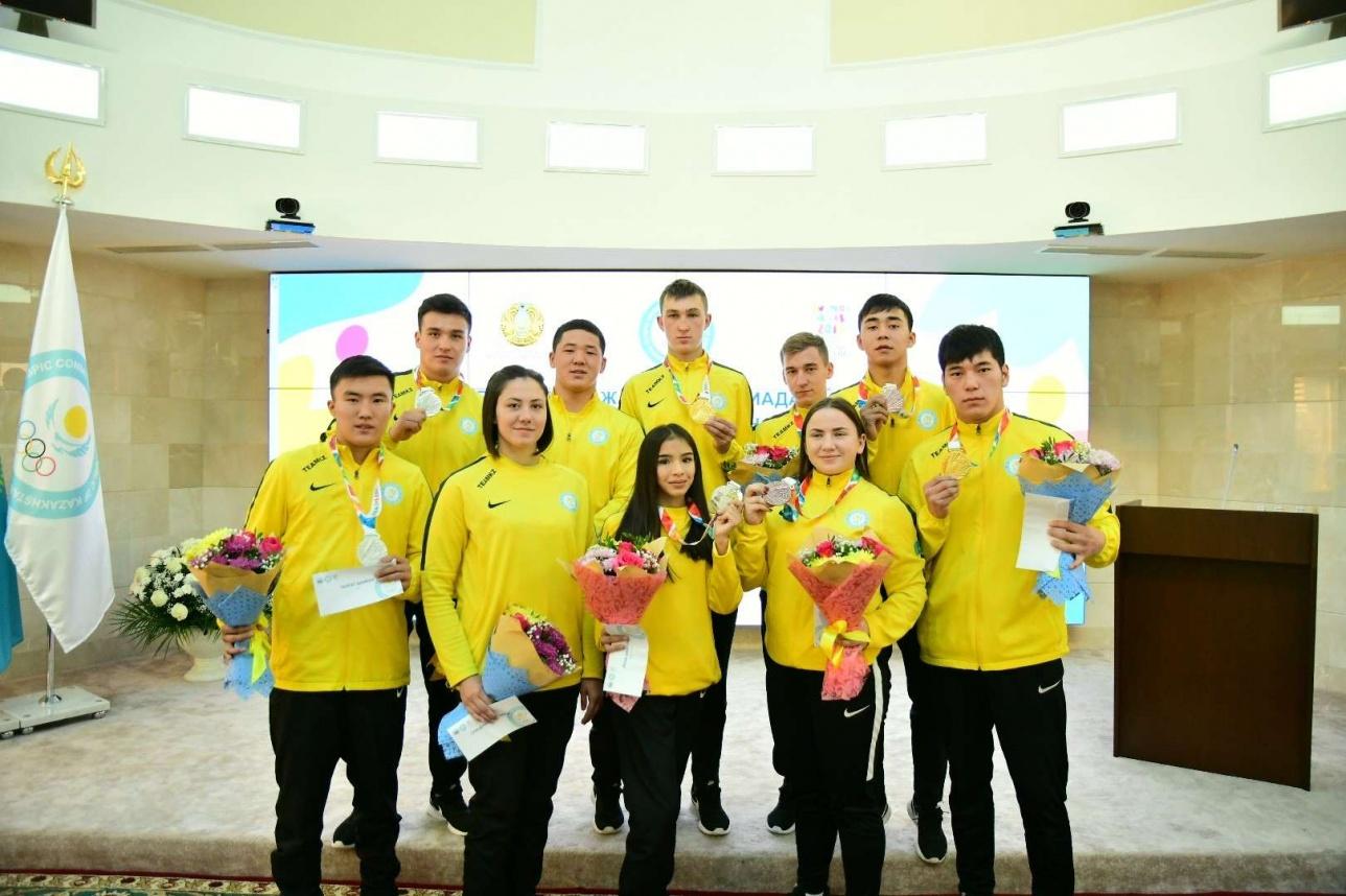 Казахстанские спортсмены впервые добились таких результатов на Юношеской Олимпиаде