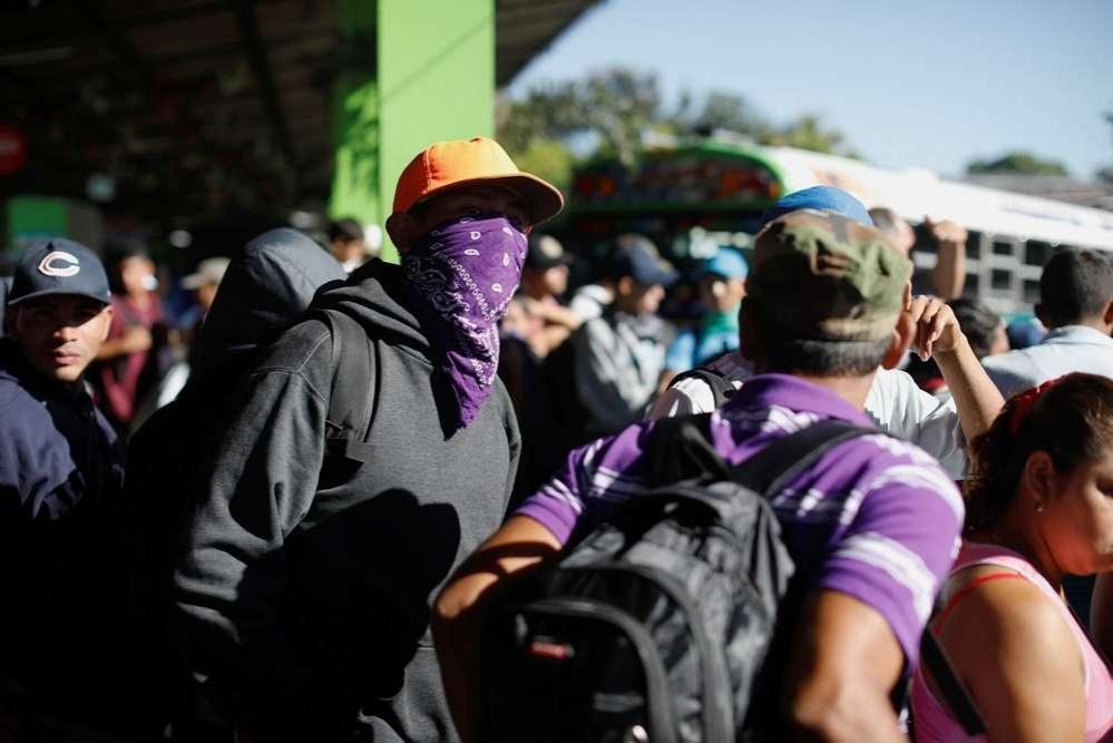 Из Сальвадора уже отправились около 3000 мигрантов