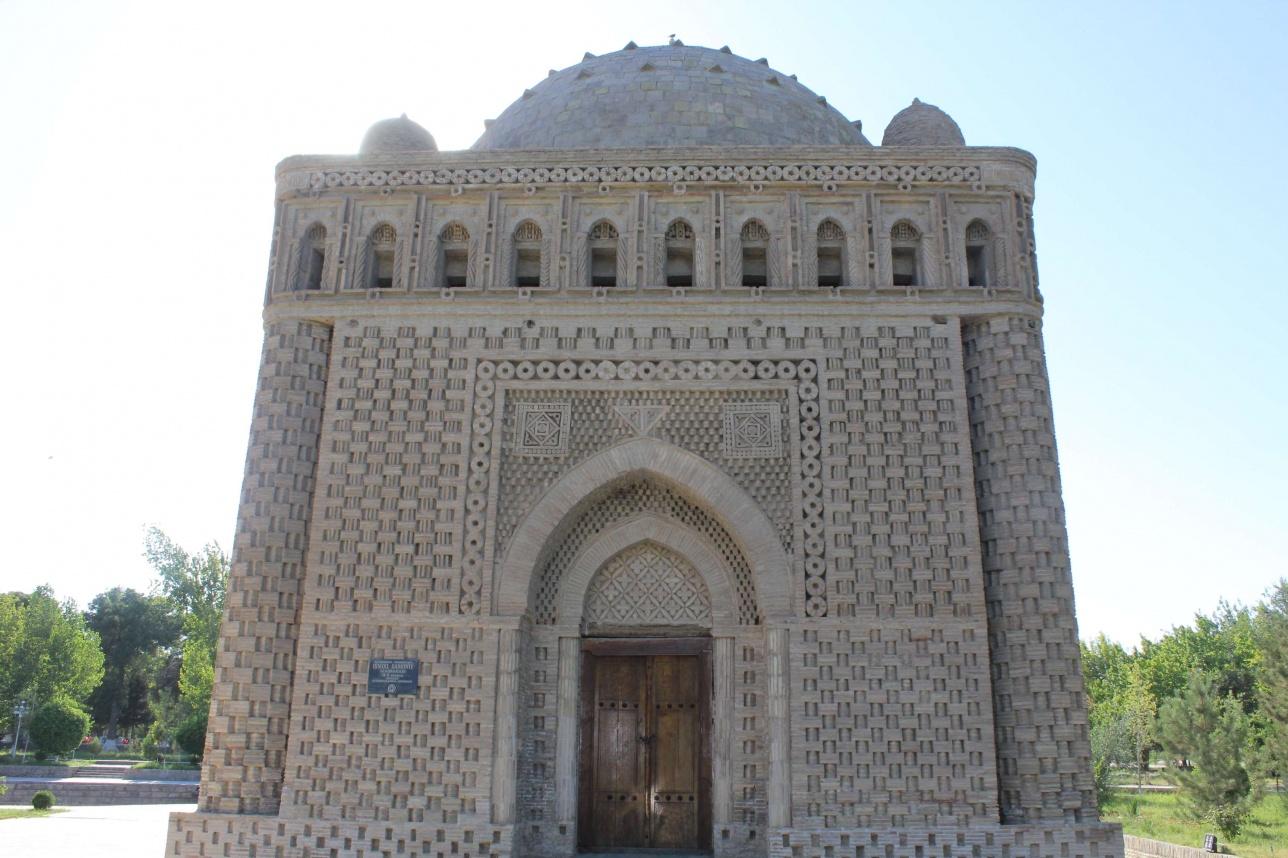 Тәжік ұлтының тарихи тұлғасы Исмайыл Саманидің Бұхарадағы мавзолейі