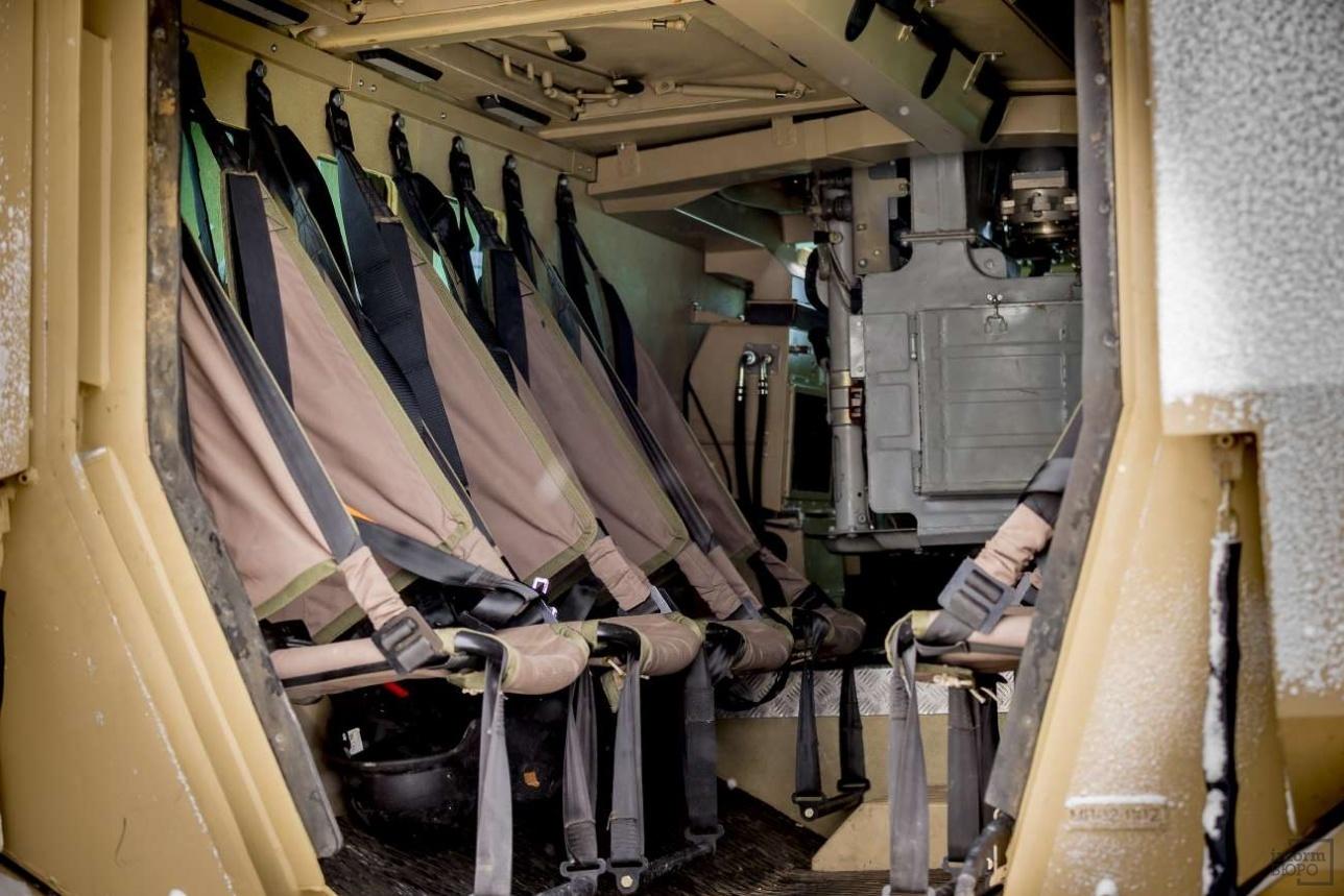 Десантное отделение бронетранспортёра