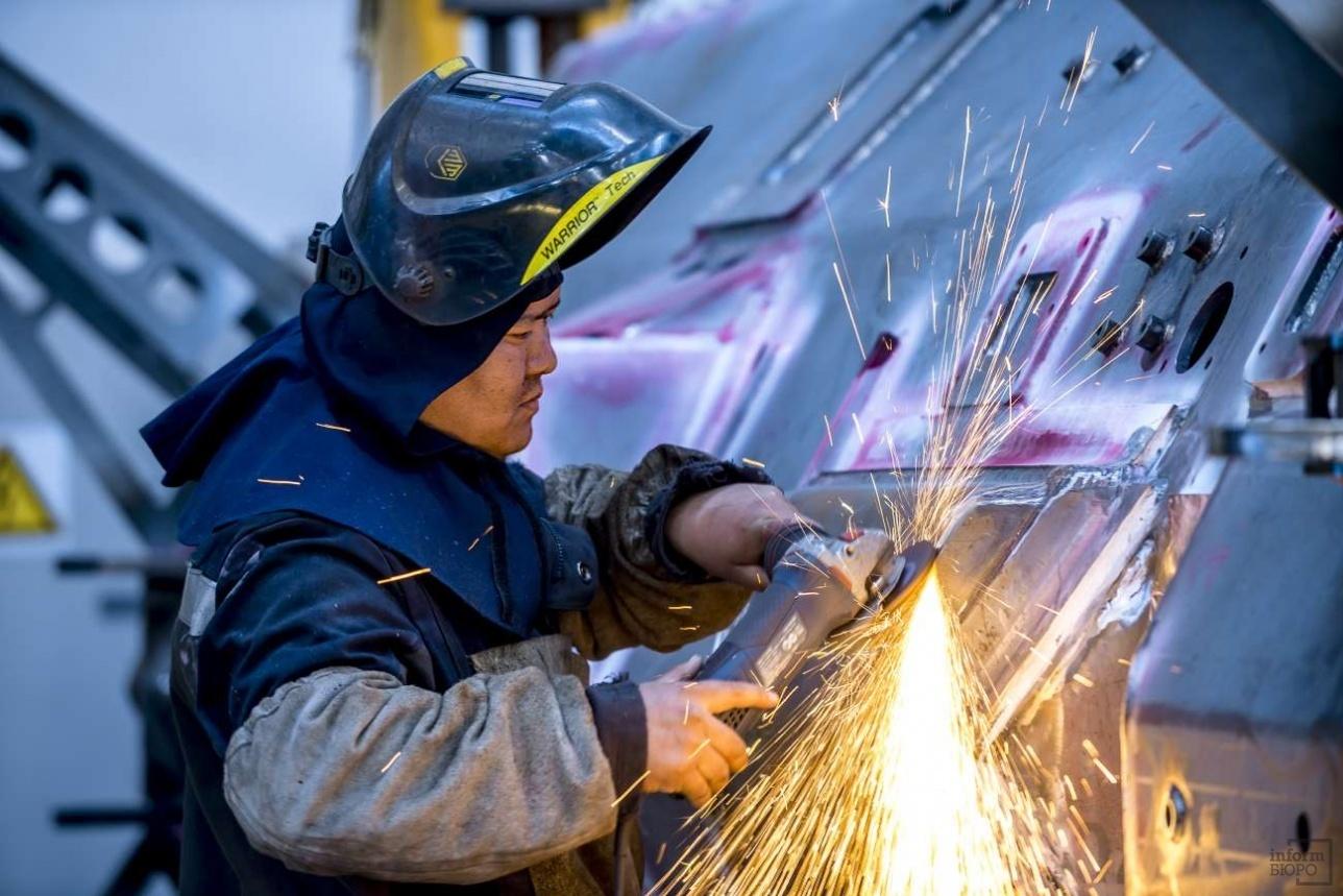 Производство бронетехники на заводе КPE в Астане