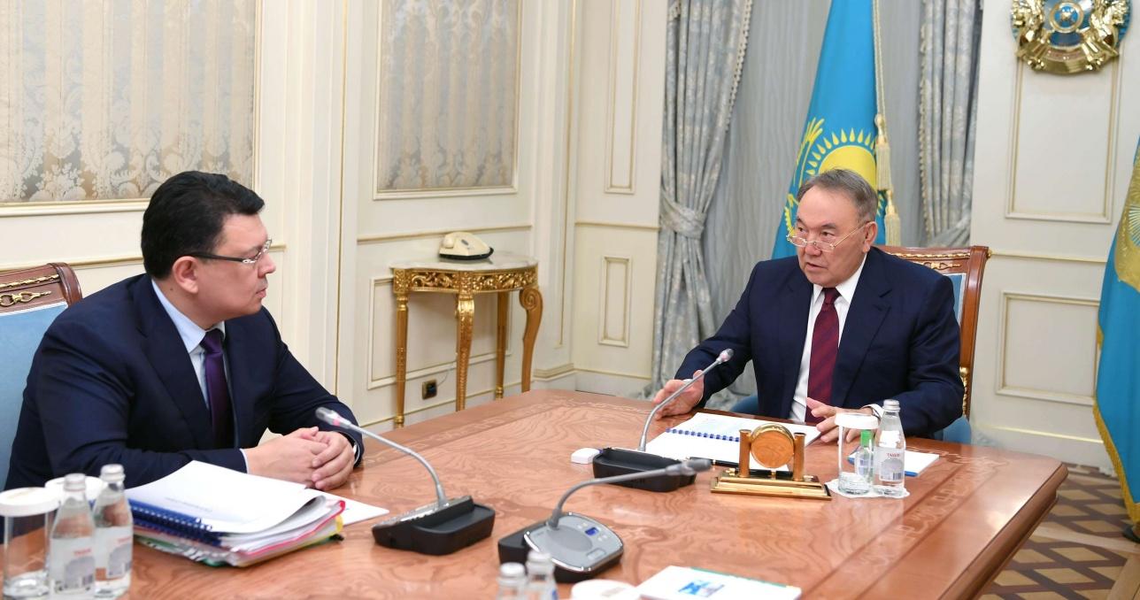 Встреча с министром энергетики Канатом Бозумбаевым