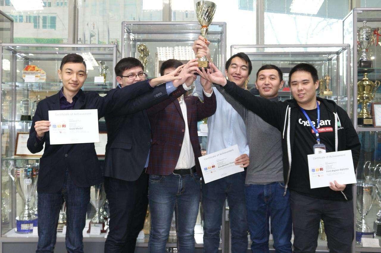 Студенты добились исторического успеха для Казахстана