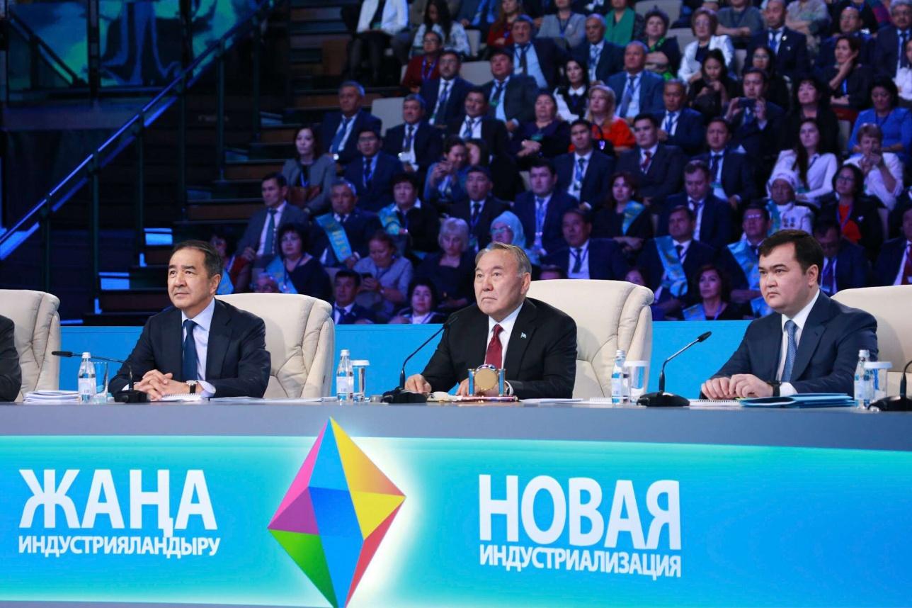 Назарбаев запустил 27 проектов