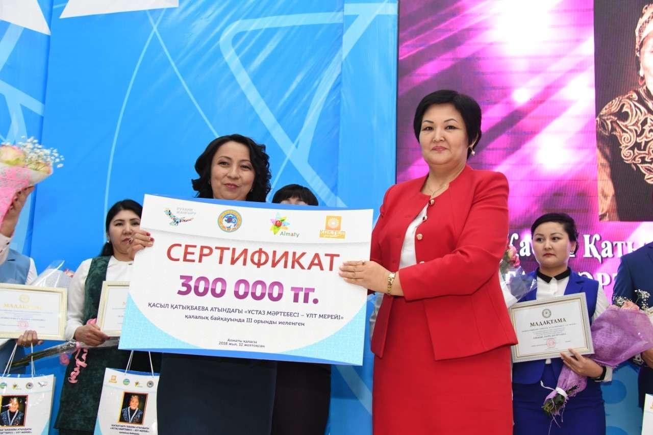 Некоторые участники конкурса получили денежные сертификаты