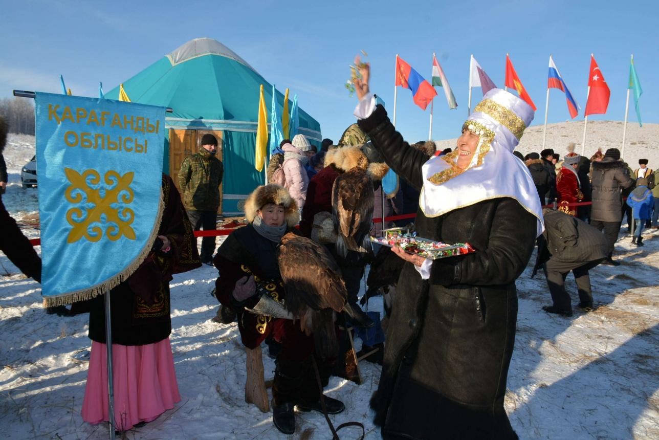 На соревнования приехали из разных регионов Казахстана, из России, Туркмении, Монголии