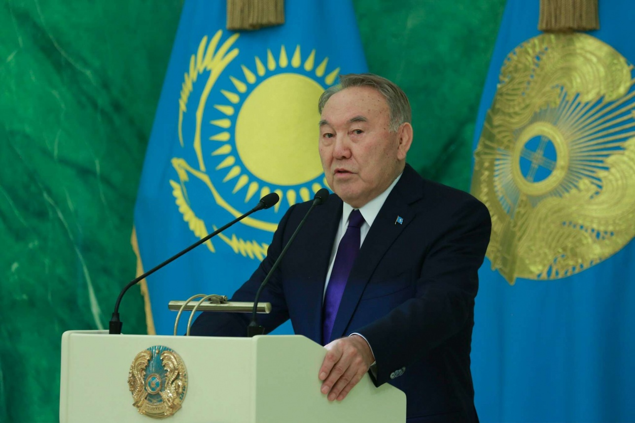 Поздравительная речь Нурсултана Назарбаева