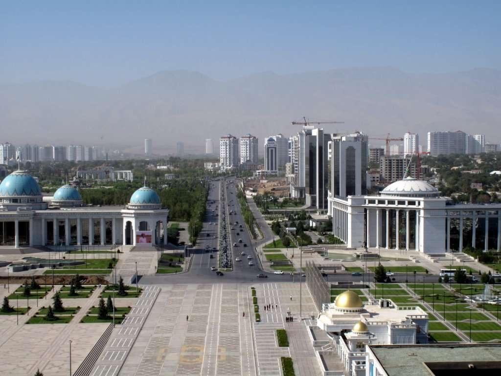 Ашхабад, столица Туркменистана