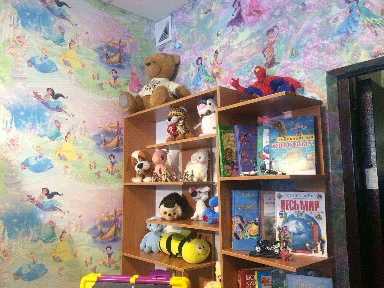 В кабинете для допроса детей создана обстановка, максимально приближенная к домашней