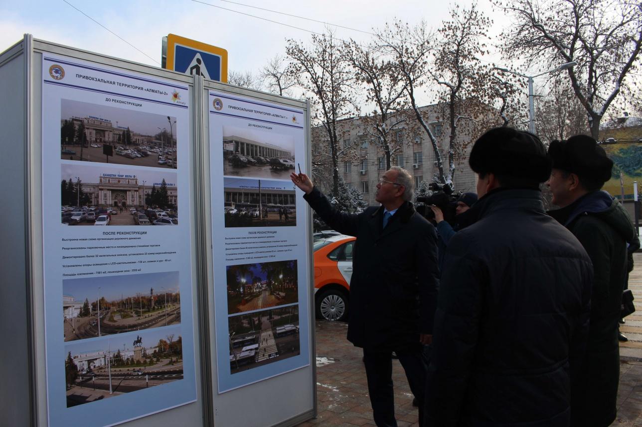 О реконструкции площади перед вокзалами рассказали премьер-министру