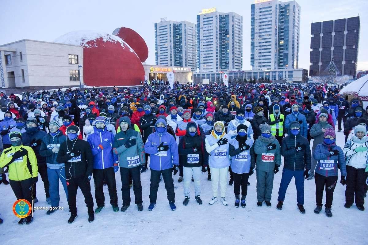 В забеге приняли участие 1600 человек