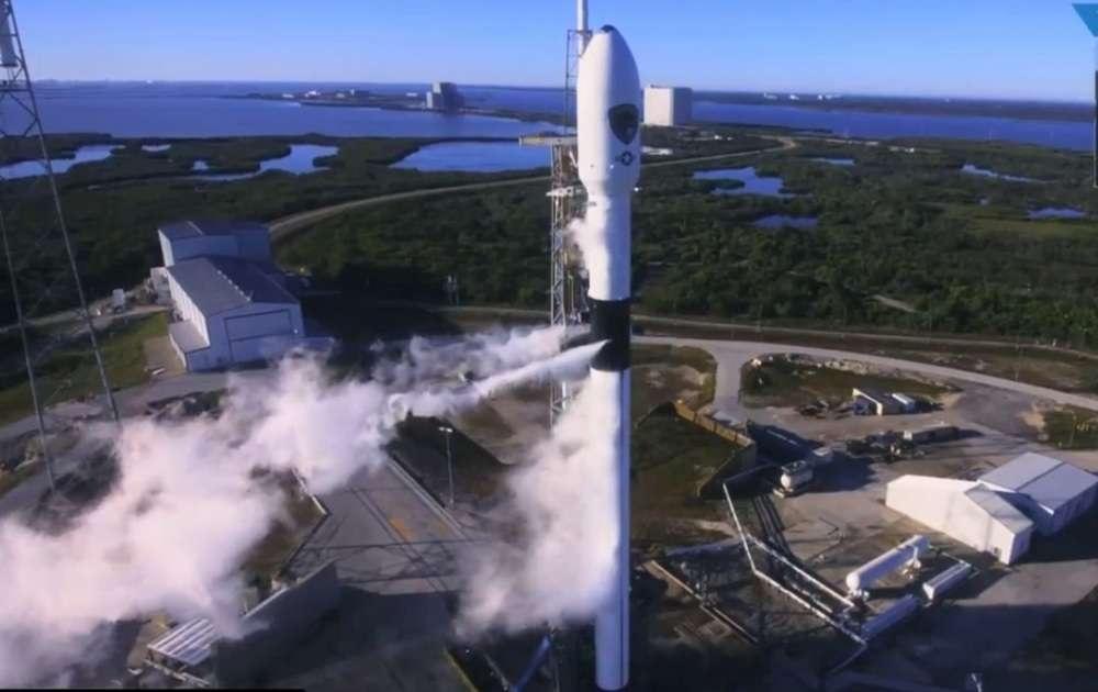 Запуск ракеты с мыса Канаверел