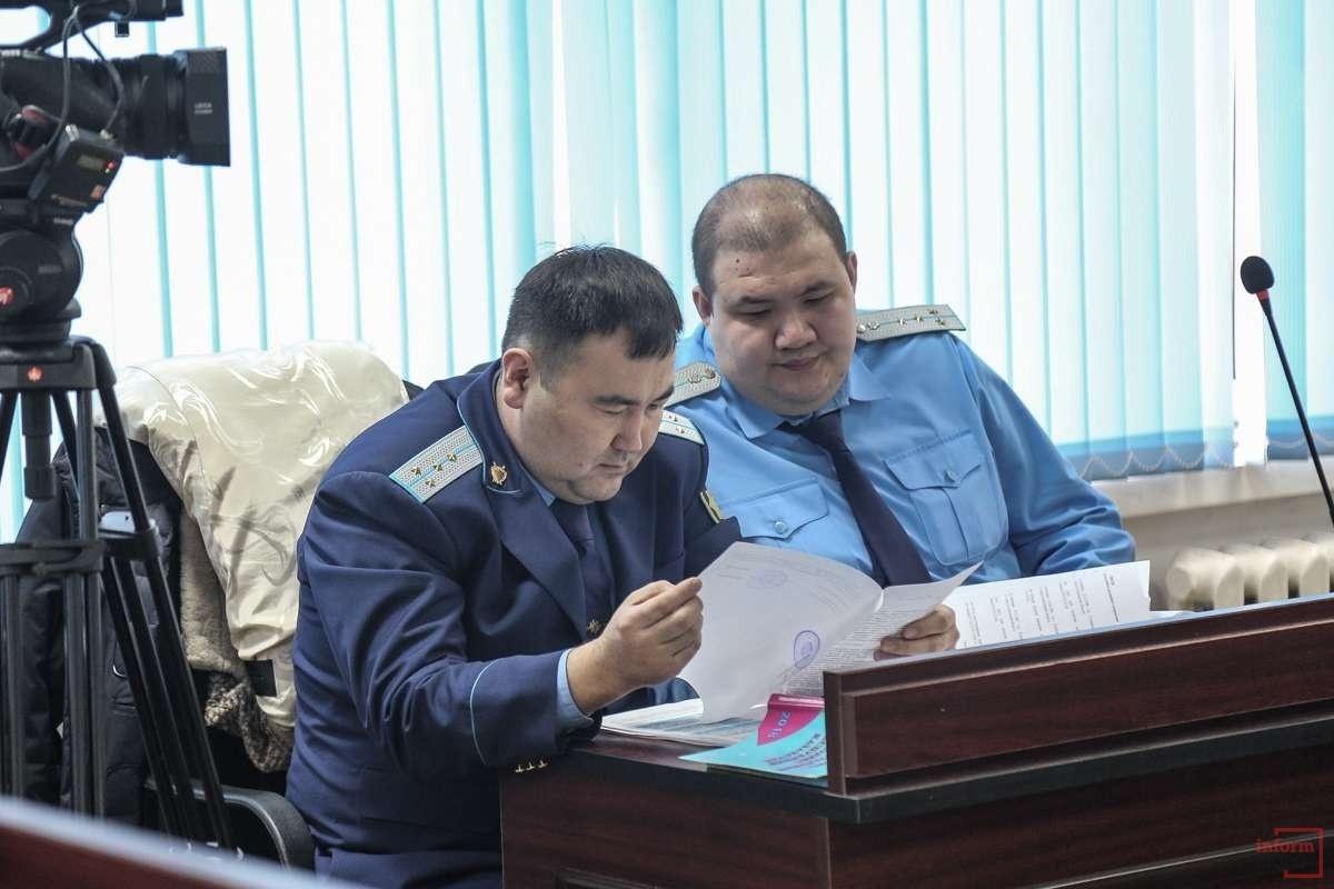 Государственные обвинители по делу Дениса Тена