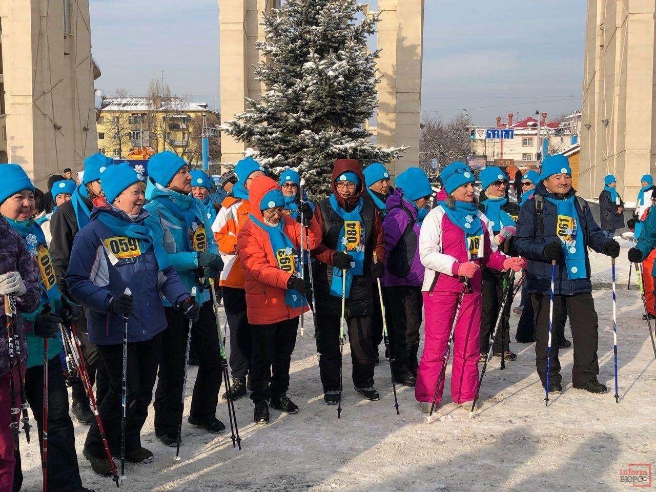 Участники соревнования в Алматы