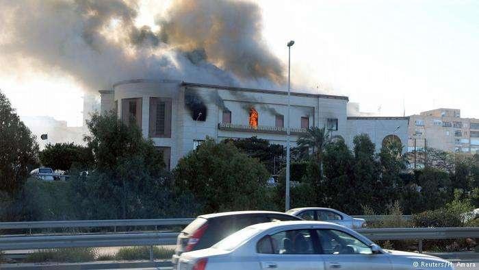 Теракт в здании МИД Ливии