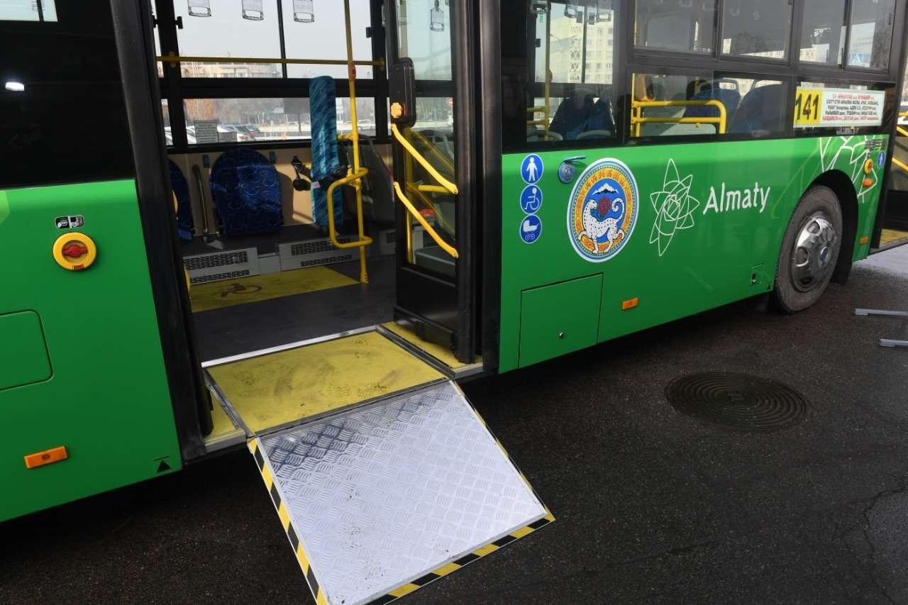 Все автобусы приспособлены для перевозки инвалидов