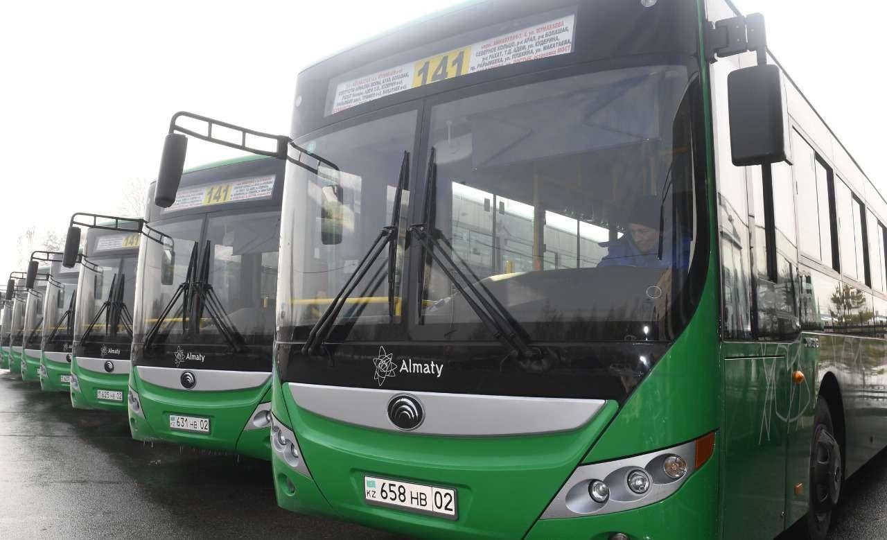 Новые автобусы купили для 141-го маршрута