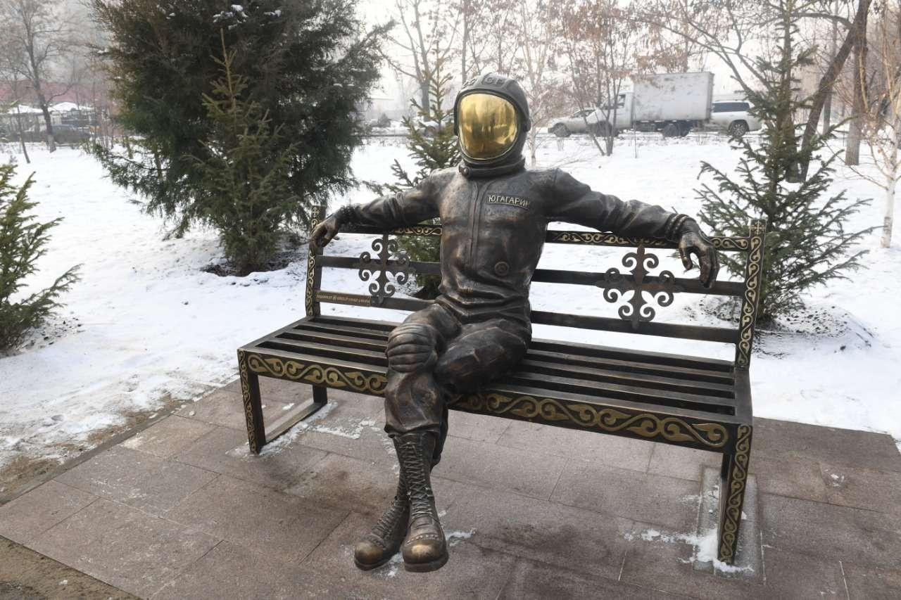 Арт-объект - не только место для селфи, но и дань памяти первому космонавту в истории человечества