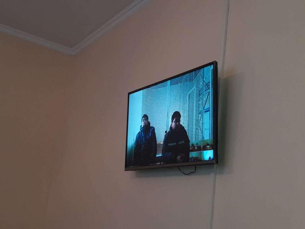 Куандык Бишимбаев участвовал в суде с помощью видеосвязи