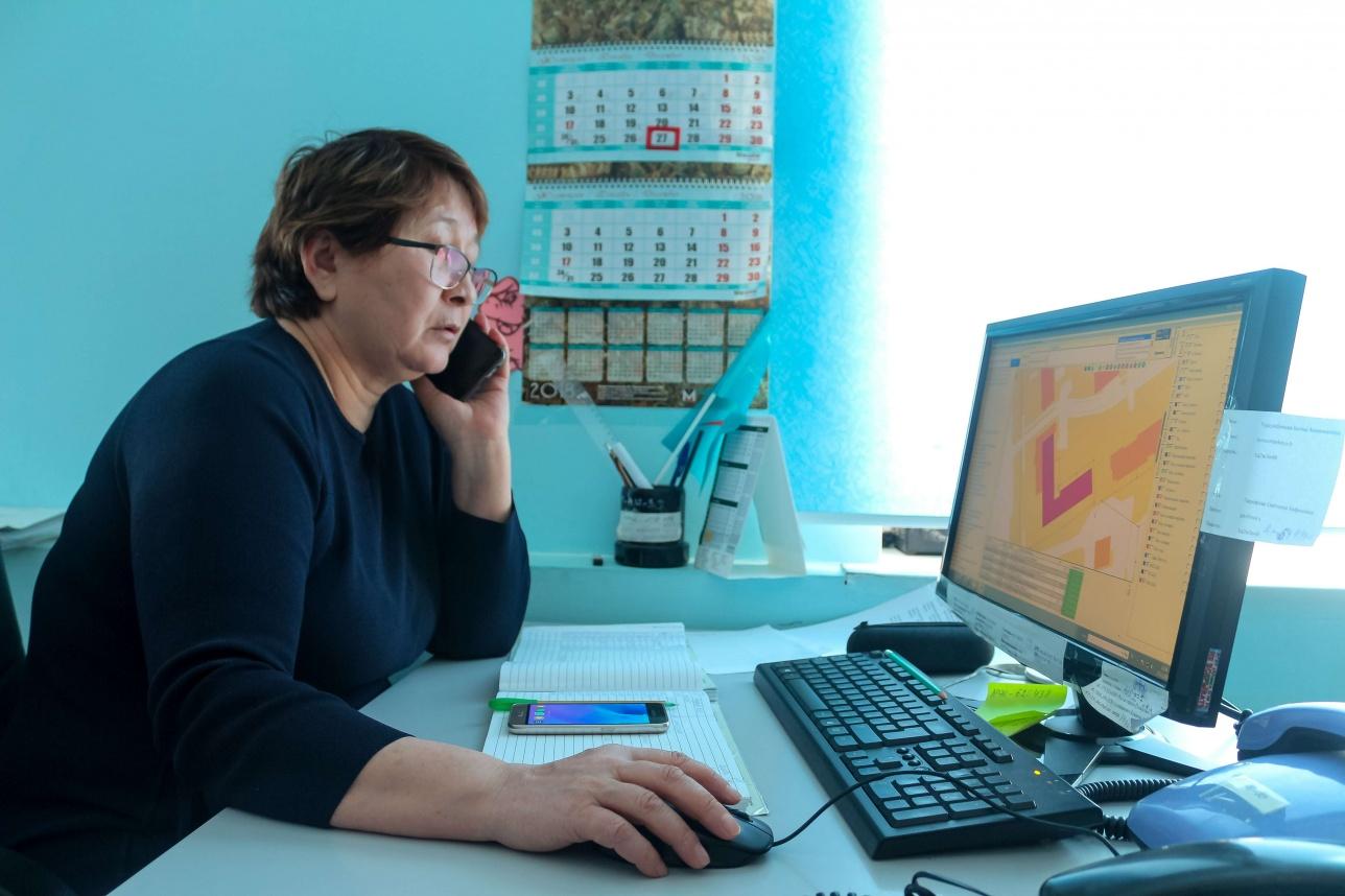 Диспетчер по водоотведению Батеш Турсумбекова