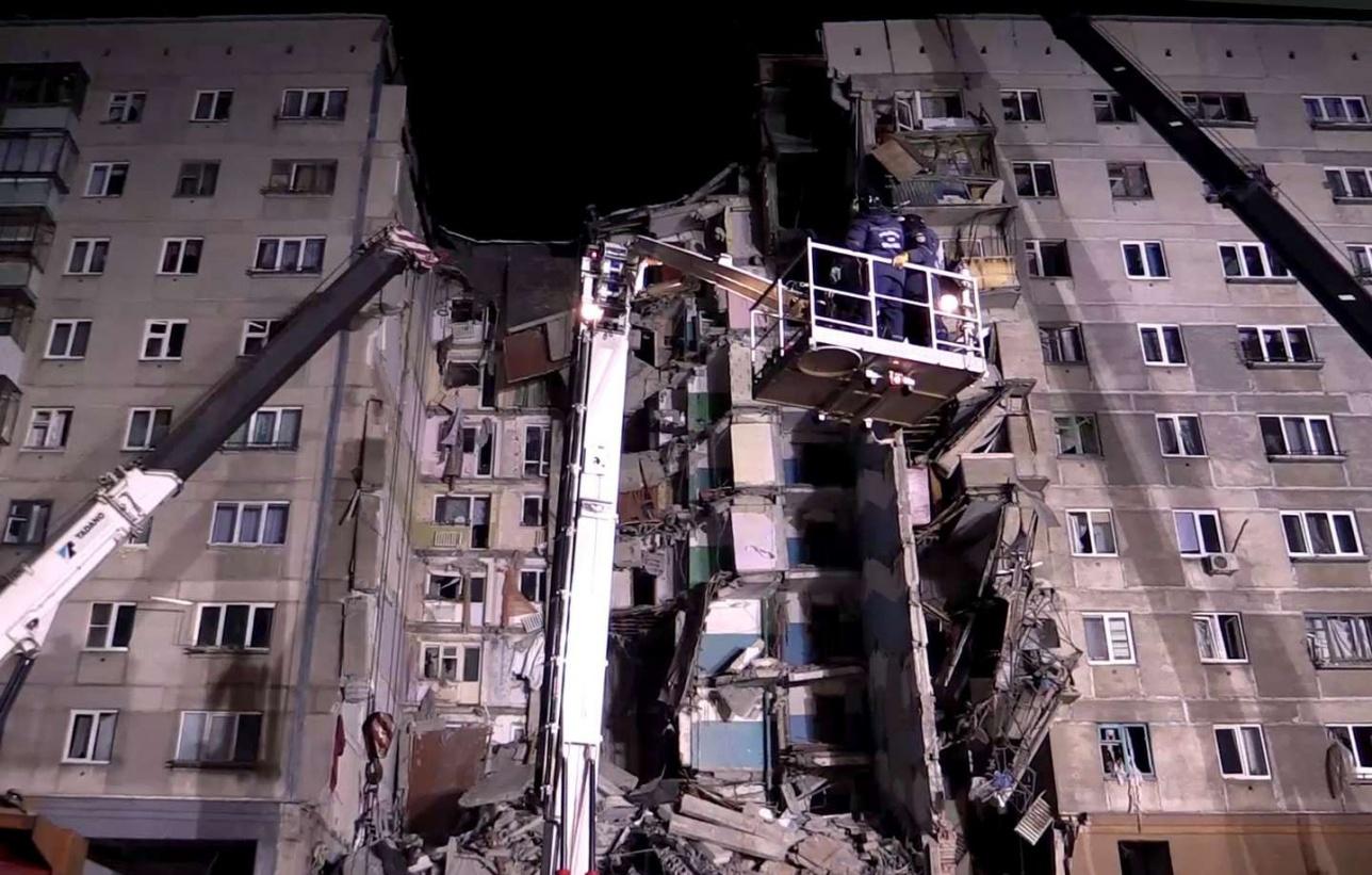 В зоне обрушения проживали 120 человек, судьба нескольких десятков из них остаётся неизвестной