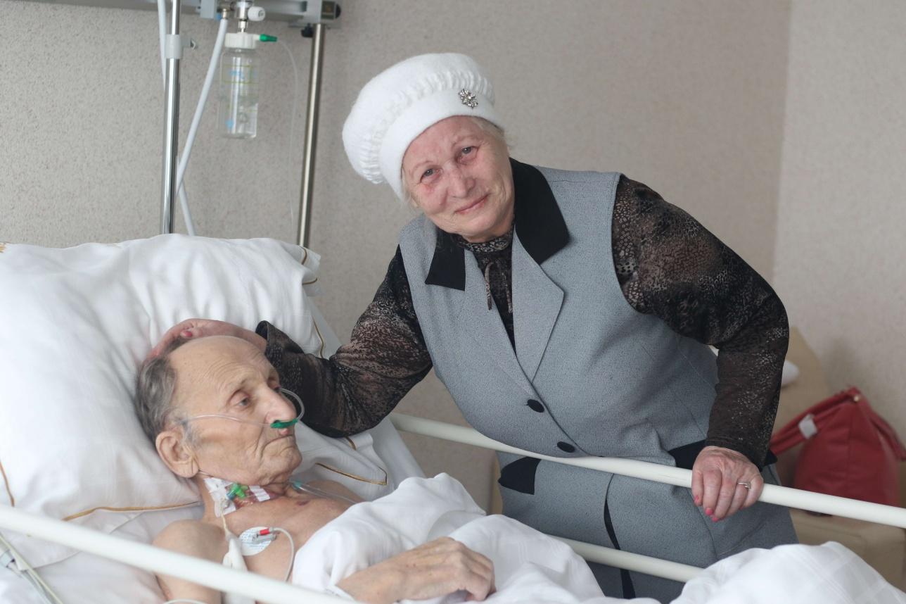 Пациент-первопроходец Юрий Дударев сейчас стабилен
