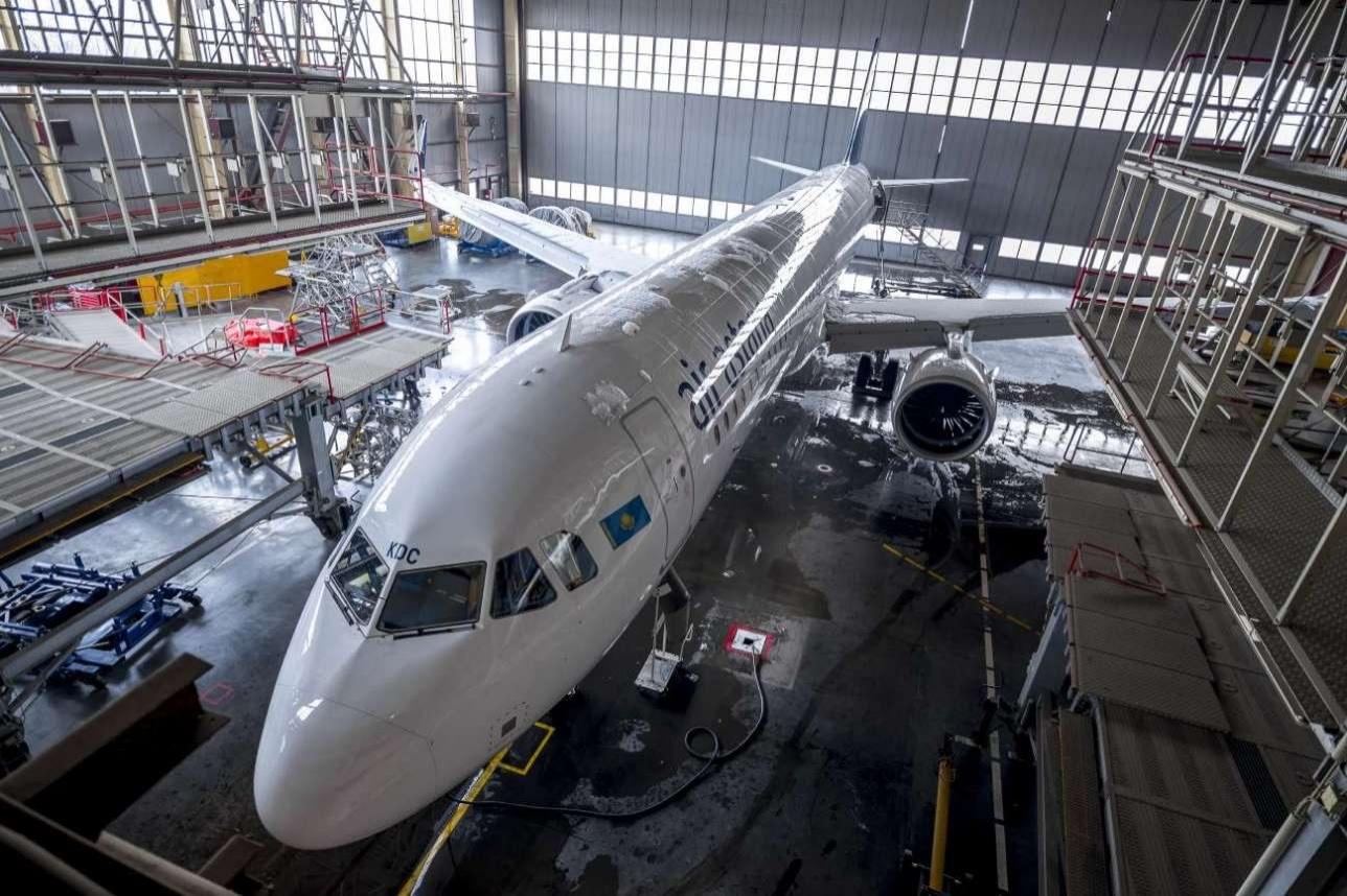 Собственный авиационно-технический центр Air Astanaпостроила за счёт кредита ЕБРР