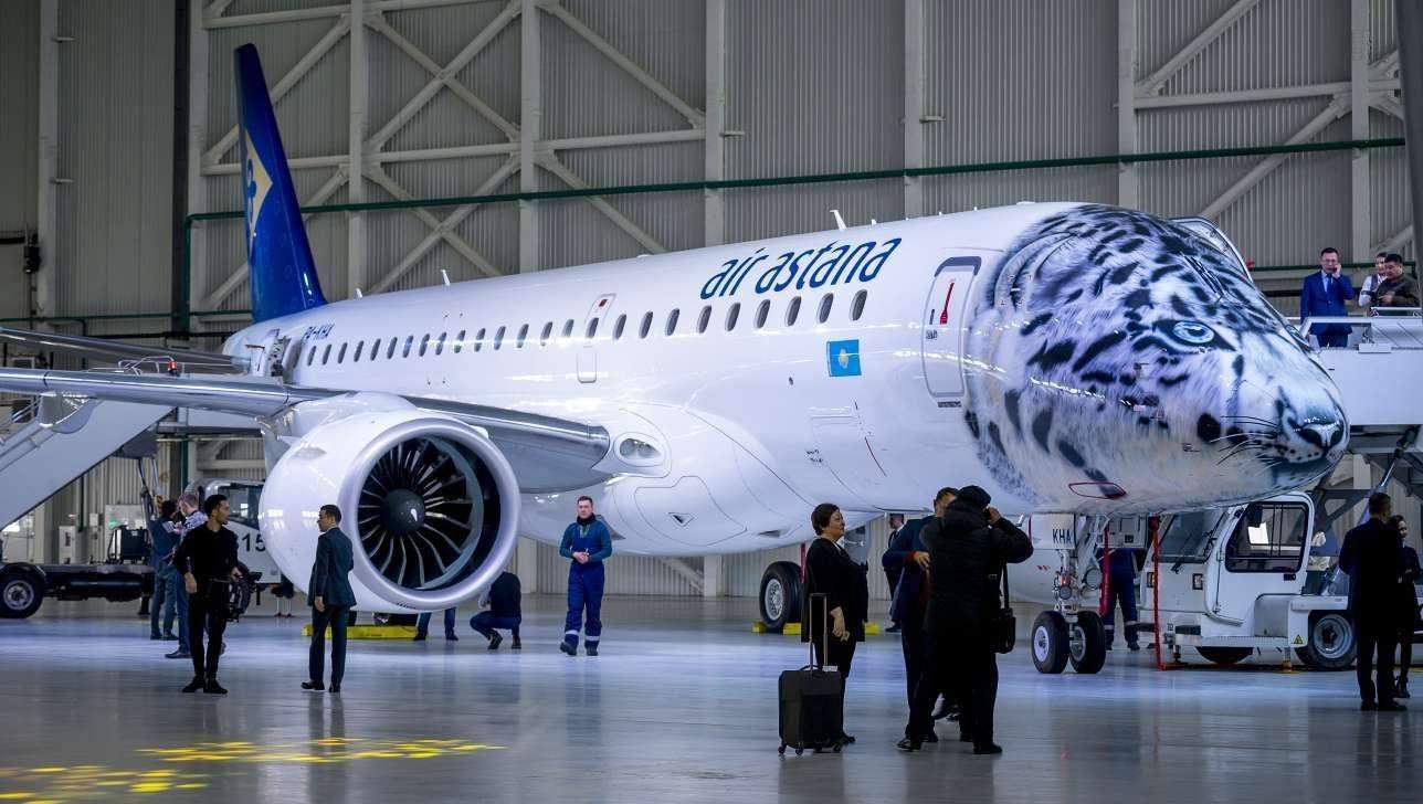 Аir Astana получила новый Embraer 190-E2 в декабре 2018 года