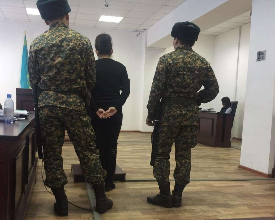 Подсудимая Жанар Толыбаева дала показания в суде