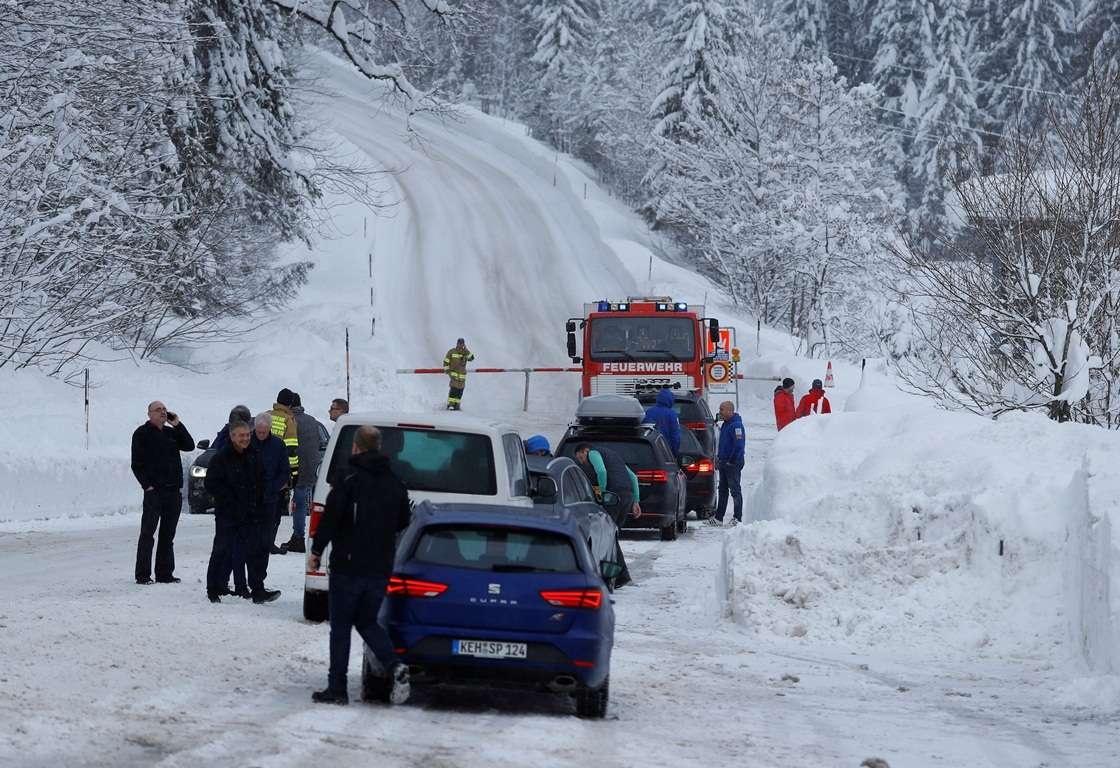 Движение по горным дорогам парализовано