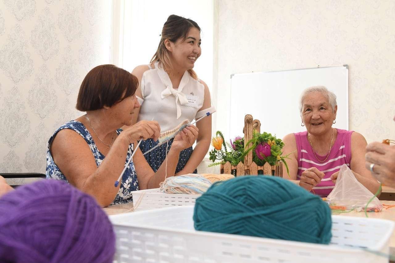 Центр активного долголетия в Алматы