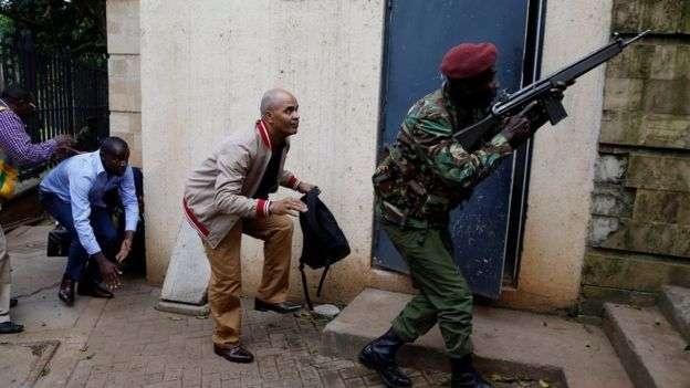 Нападение на гостиницу в Найроби
