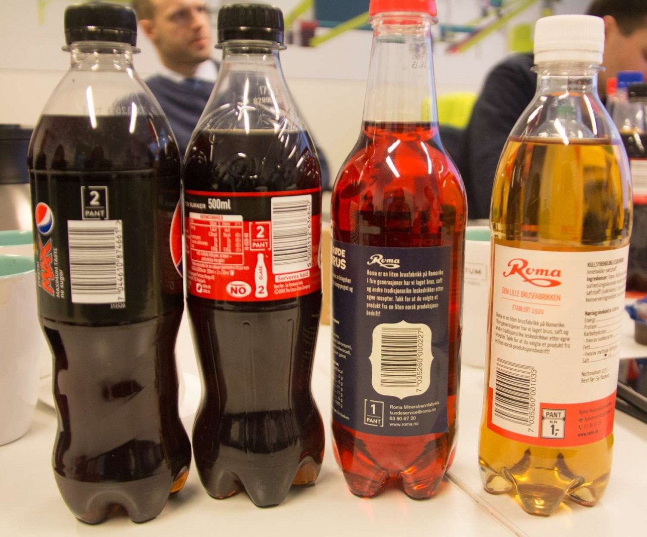 Сумма возврата указана на каждой бутылке