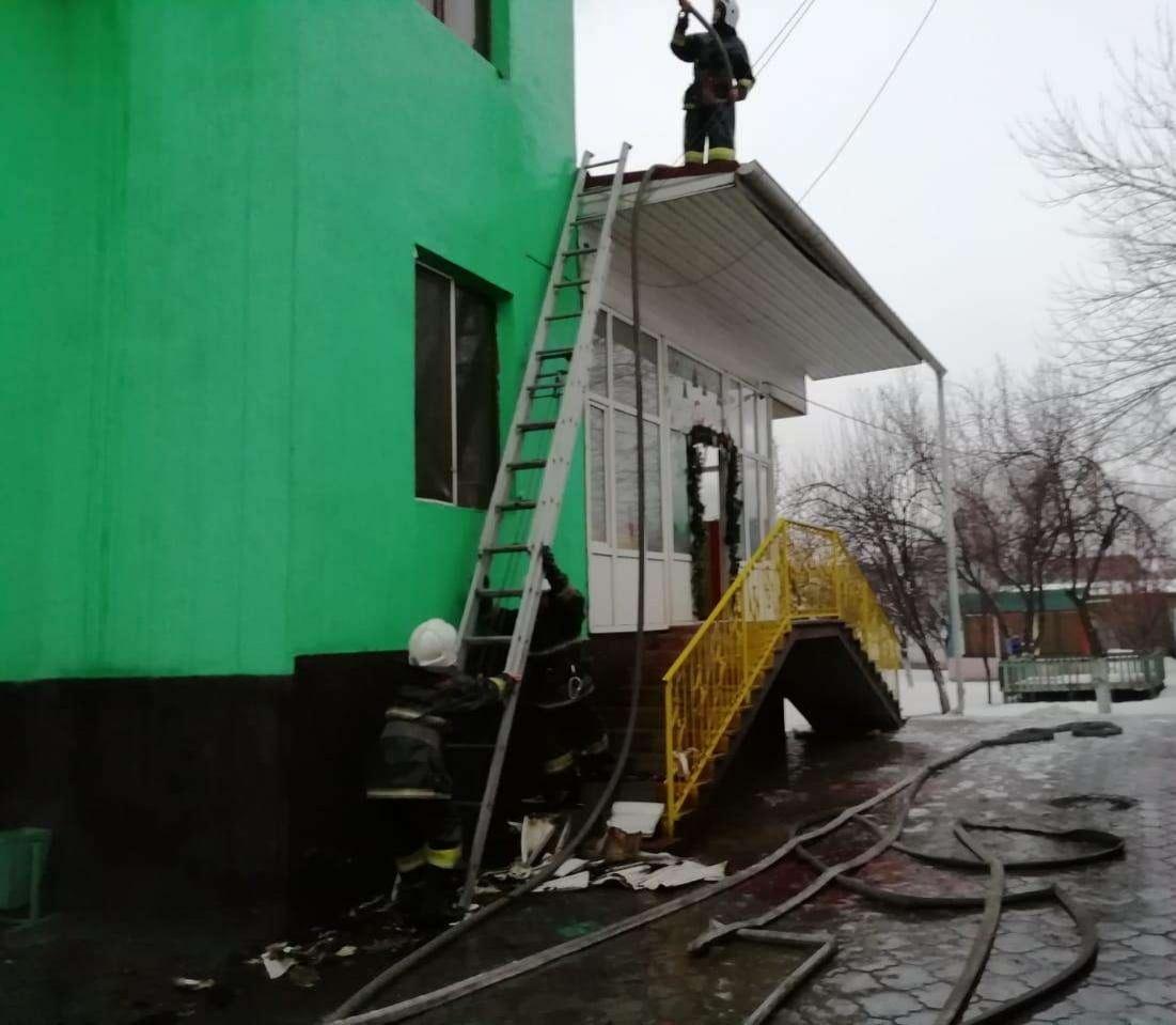 Жертв при пожаре в детском саду нет