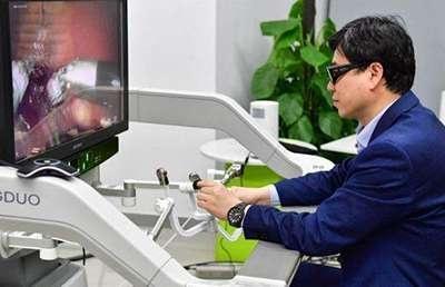 Дистанционная операция с применением технологии 5G