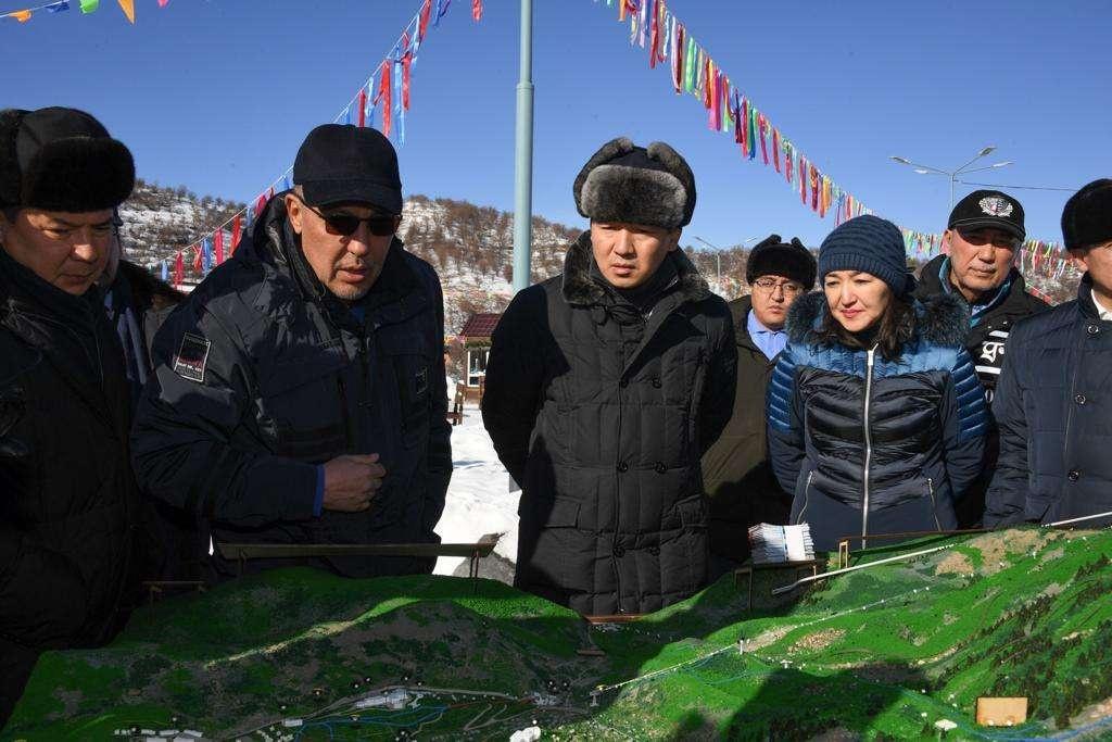 Бауыржан Байбек осмотрел горные локации региона