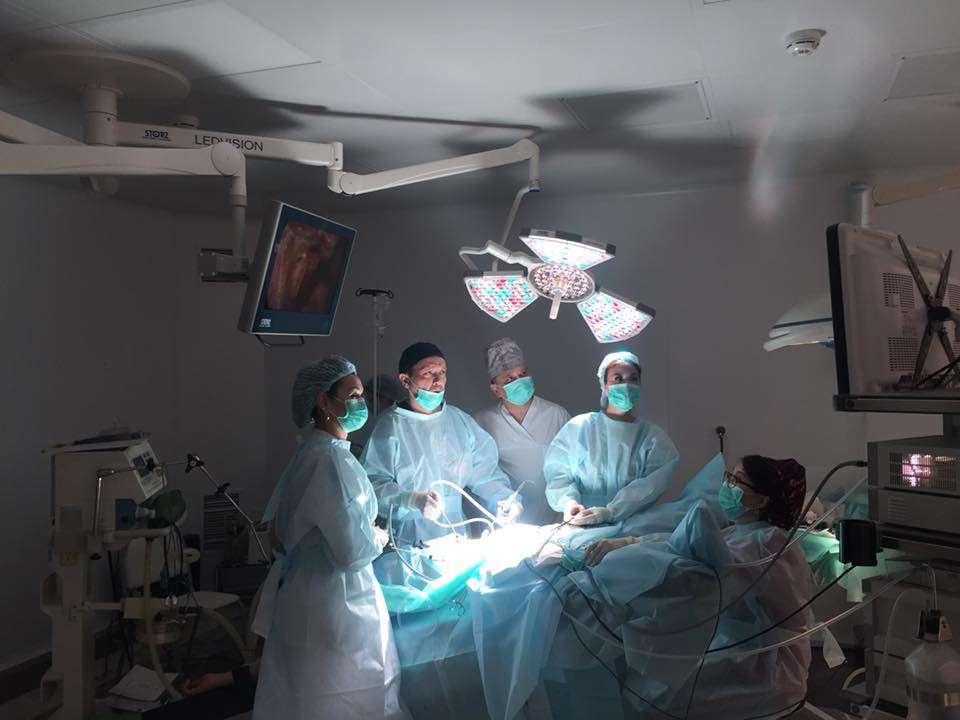 В операционной Института репродуктивной медицины