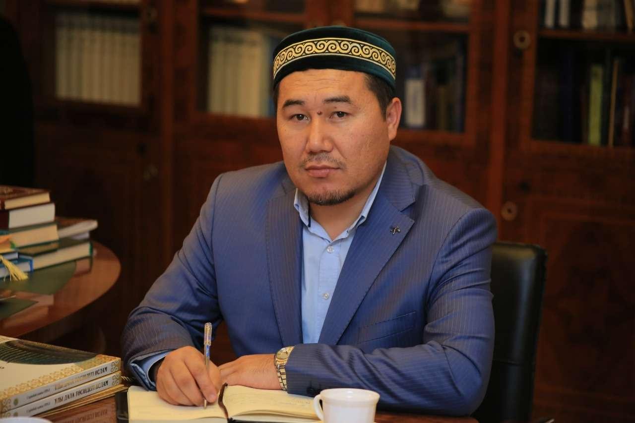 Глава отдела стандартизации халяльной продукции ДУМК Бейбит Мырзагелдиев