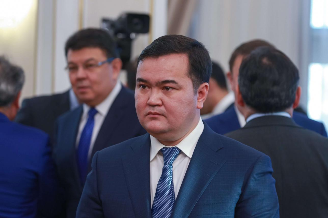 Министр индустрии и инфраструктурного развития Женис Касымбек